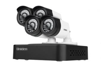 Uniden Guardian GDVR10440 DVR 4 Camera Security System