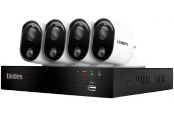 Uniden Guardian GDVR20440 DVR 4 Camera Security System