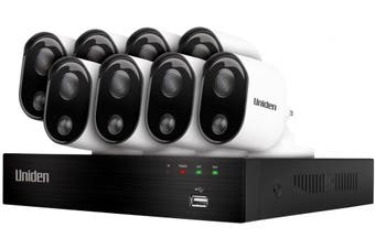 Uniden Guardian GDVR20880 DVR 8 Camera Security System