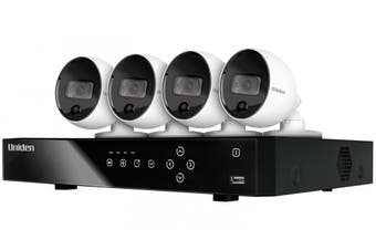 Uniden Guardian GXVR55840 DVR 4 Camera Security System