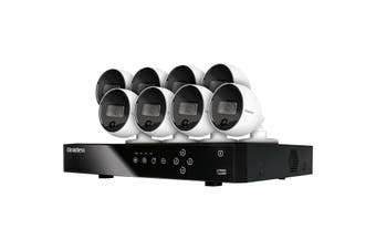 Uniden Guardian GXVR55880 DVR 8 Camera Security System