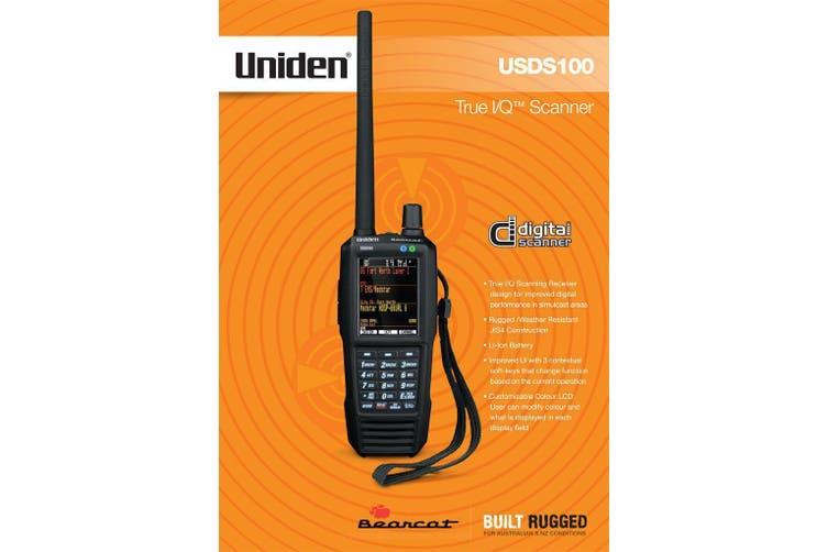 Uniden USDS100 Digital Hand Held Scanner