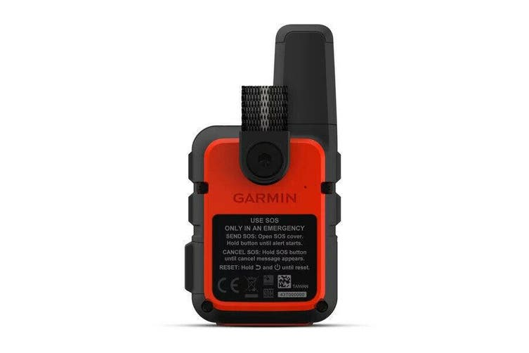 Garmin inReach Mini GPS Satellite Communicator & Tracker - Orange