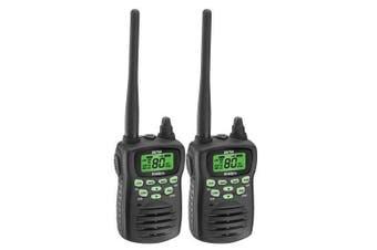 Uniden UH750-2 80 Channel UHF CB Handheld Radio (Twin Pack)