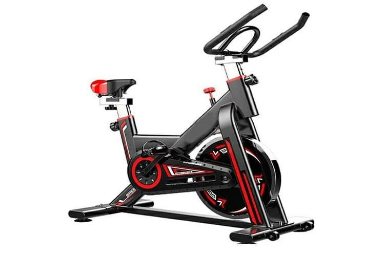 LR Fitness ProSpin Exercise Bike Flywheel Spin Bike Home Gym