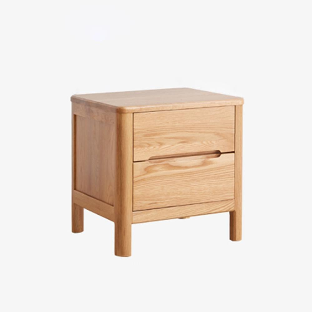 Miuz Bedside Table Bed Side Tables Drawers Side Tables Solid Timber American Oak Wood Nightstand Matt Blatt
