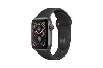 Apple Watch Series 4 A2008 16GB Black Stainless Steel Case [Excellent Grade]
