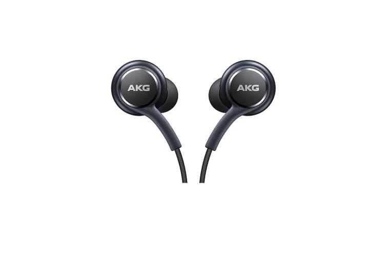 Samsung AKG EO-IG955 In-ear Earphones for Galaxy S8/S9 Black Packaging [Genuine]