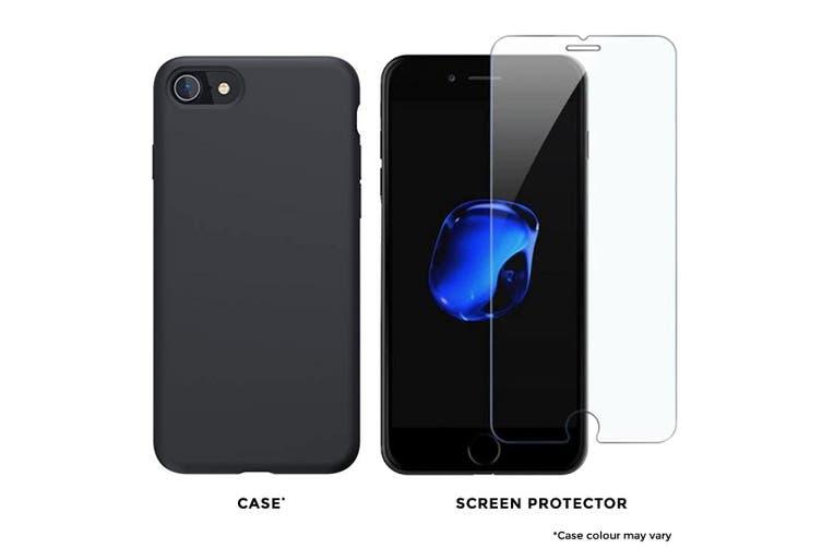 Apple iPhone 7 256GB Matte Black Used Grade BONUS Cover & Screen Protector