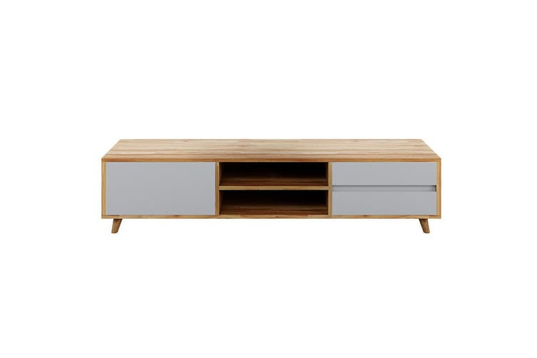 Morie Entertainment Unit with Drawers - White
