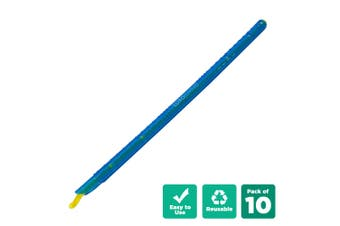 10pcs Kitchen Sealing Stick Reusable Clips Bag Sealer - Blue