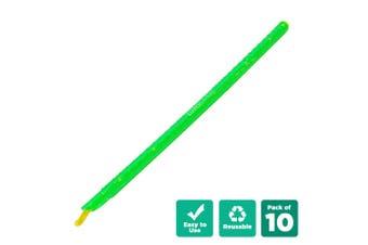 10pcs Kitchen Sealing Stick Reusable Clip Bag Sealer - Green