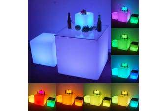 Waterproof Outdoor LED Cube Lights Décor - 30cm