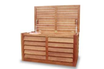 Luxo FSC Eucalyptus Timber Outdoor Storage Chest