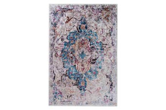 Arwani 160 x 230cm Distressed Traditional Persian Silky Floor Rug