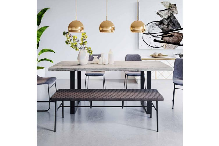 Ernest 200cm Industrial Dining Table