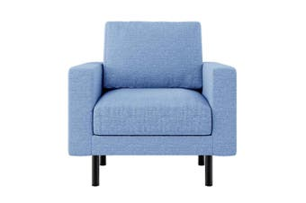 Sikas Fabric Armchair - Blue