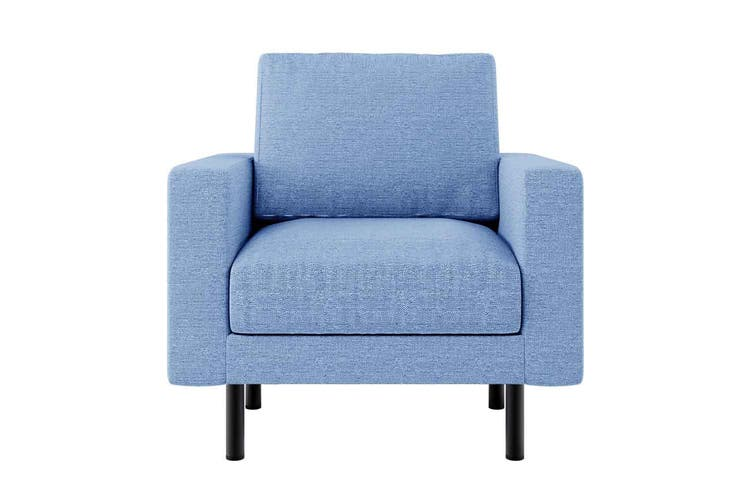 Sikas Fabric Armchair - Blue