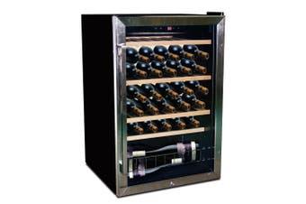 VinoVault Single Zone Underbench Wine Fridge - 45 Bottles