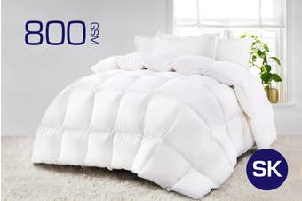 Super King Size 800GSM Quality Ultra-Warm Winter Weight Quilt