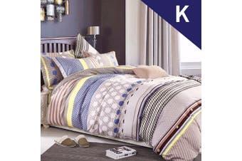 King Size Adeline Design Quilt Cover Set