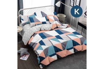 King Size ARGULE Design Quilt Cover Set