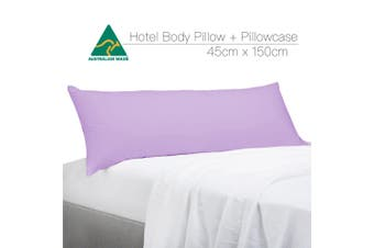 Lilac Color Aus Made Full Long Body Pillow