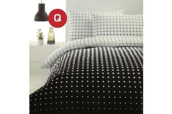 Queen Size Calibri Design Quilt/Doona Cover Set