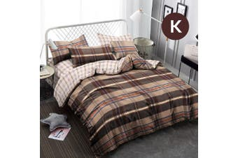King Size Cookie Design Quilt Cover Set
