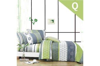 Queen Size DEXTER Design Quilt Cover Set
