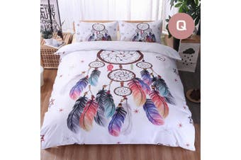 Queen Size Dream Catcher Quilt/Doona Cover Set