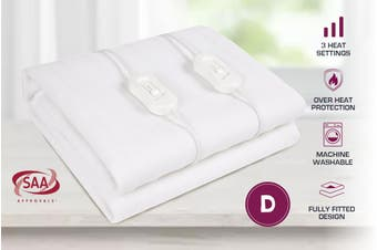 Double Size Fully Fitted Non Woven Electric Blanket Heated Pad