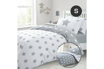 Single Size Grizzle Stars Quilt/Doona Cover Set
