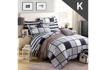 King Size Inception Design Quilt Cover Set