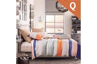 Queen Size Moka Design Quilt Cover Set