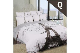 Queen Size PARISENNE Design Quilt Cover Set