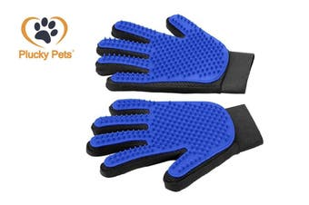 Pets Grooming Gloves Cleaning Dogs Cats Hairs (1 Pair)