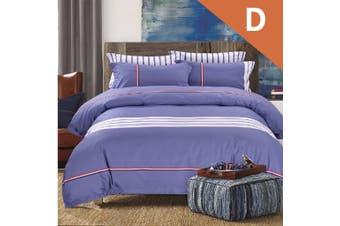 Double Size Puppy Blue Design Quilt Cover Set