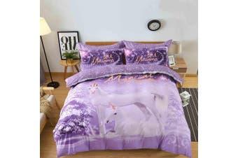 King Size Dream Unicorn Quilt/Doona Cover Set