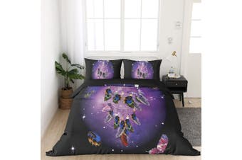 King Size FANTASY BUTTERFLY Quilt/Doona Cover Set