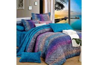 King Size MANDALA OCEAN Quilt/Doona Cover Set
