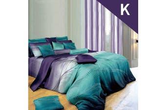 King Size RHYTHM Design Quilt Cover Set
