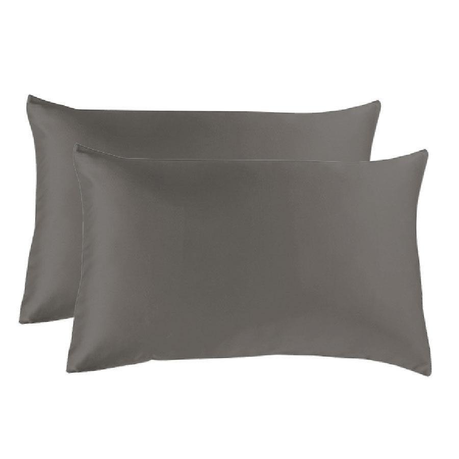 Silky Satin European Pillowcase 24 Colours 65cm x 65cm FREE Postage
