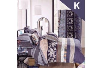 King Size Vegas Design Quilt Cover Set