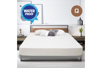Queen Size Fully Fitted Non Woven Waterproof Mattress Protector