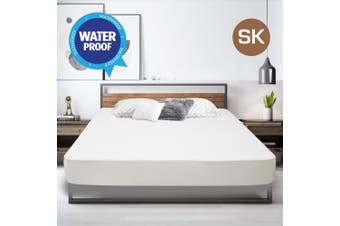 Super King Size Fully Fitted Non Woven Waterproof Mattress Protector