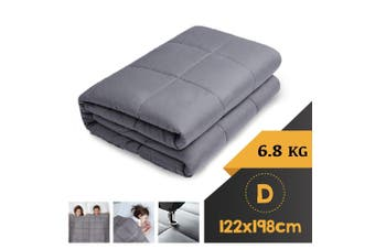 WEIGHTED BLANKET DOUBLE Heavy Gravity GREY 6.8KG