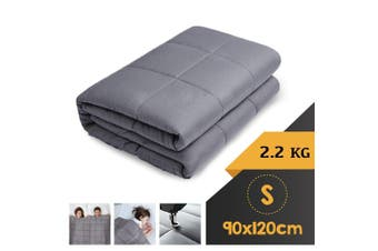 WEIGHTED BLANKET SINGLE Heavy Gravity GREY 2.2KG