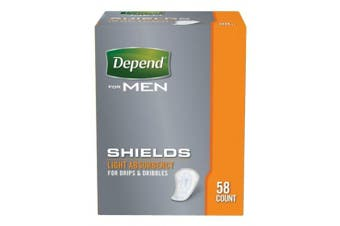 New Depend For Men Shields - White Carton (14 X 6 Packs)