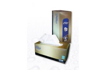 New Abc Quiltex  0-2238 Hand Towel Multipurpose 2Ply - White, 130 Sheet Carton